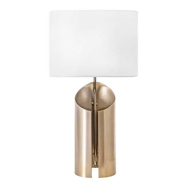 "Tripp Iron Table Lamp, 22"" - Loom 23"