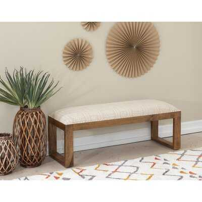 Torbert Solid Wood Bench - Wayfair