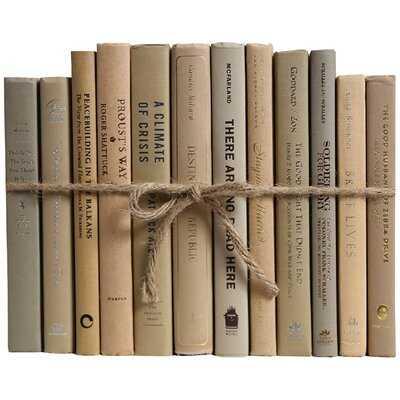 Driftwood Colorpak Authentic Decorative Book - Wayfair