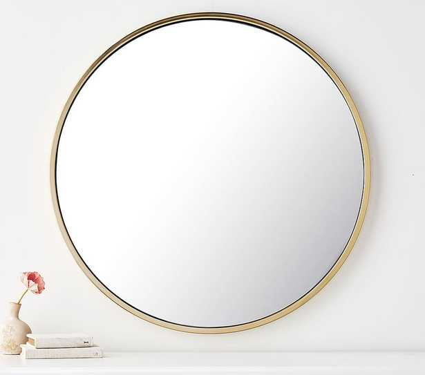 Round Gold Mirror - Pottery Barn Kids