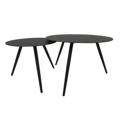 Platt 2 Piece Nesting Side Table Set - Wayfair