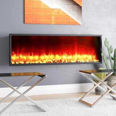 Belden Wall Mounted Electric Fireplace - AllModern