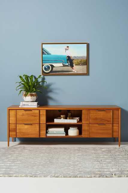 Quincy Media Console - Anthropologie