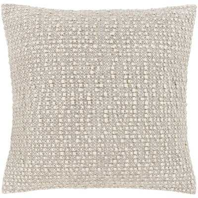 Stansel Textured Throw Pillow Cover - AllModern