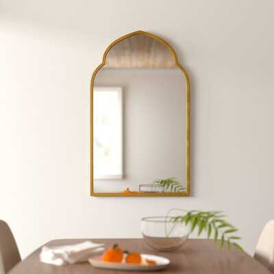 Gold Arch Wall Mirror - AllModern