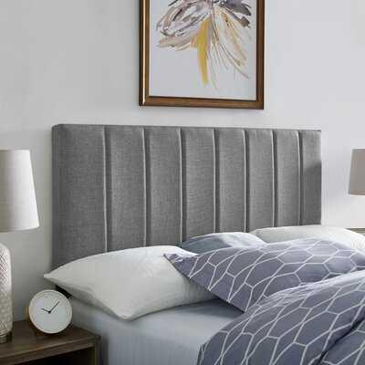 Angier Upholstered Panel Headboard - Wayfair