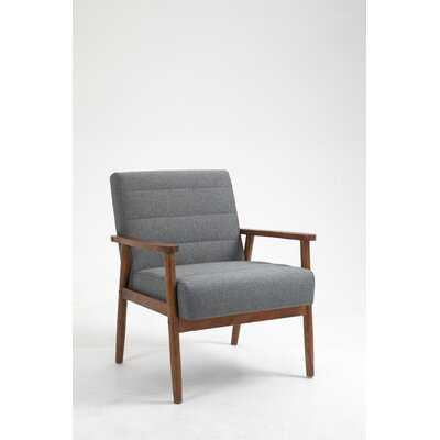 Carvelli 30.7'' W Tufted Polyester Blend Armchair - Wayfair