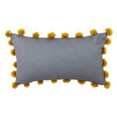 Montello Embroidered Outdoor Lumbar Pillow - Wayfair
