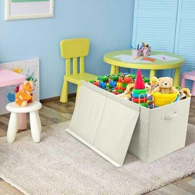Calaway Storage Fabric Toy Box - Wayfair