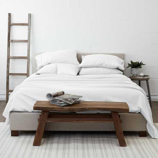 Performance White King 6-Piece Bed Sheet Set - Home Depot