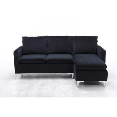 """Halimah 77.4"""" Right Hand Facing Sectional with Ottoman - Wayfair"""