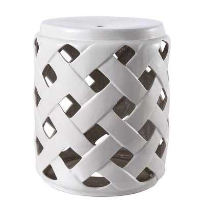 Lannah Ceramic Garden Stool - Wayfair