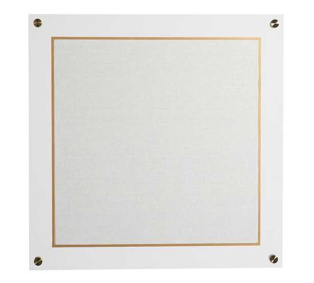 Acrylic/Brass Pinboard - Pottery Barn
