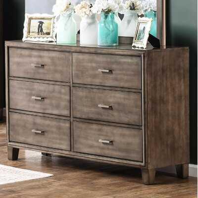 Brigham 6 Drawer Double Dresser - Birch Lane