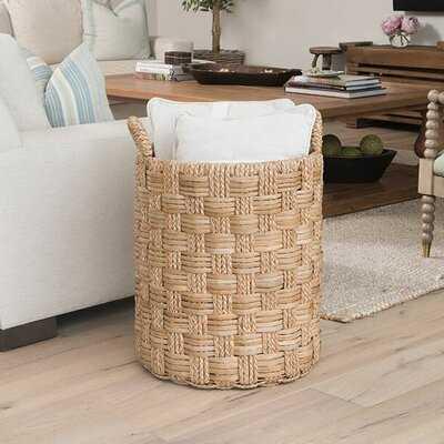 Braided Storage Wicker Basket - Birch Lane