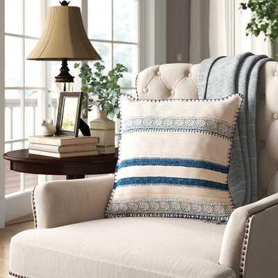Vanston Cotton Striped Throw Pillow - Birch Lane