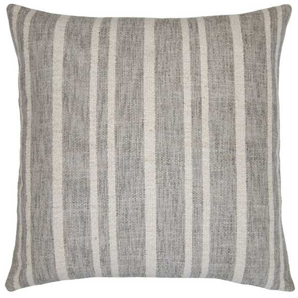 """Square Feathers California Throw Pillow Color: Gray, Size: 20"""" x 20"""" - Perigold"""