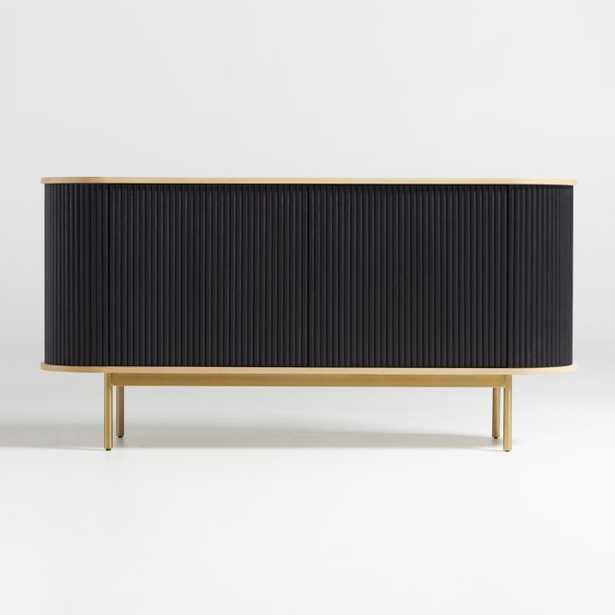 Walton Ribbed Sideboard- Estimated in early September. - Crate and Barrel