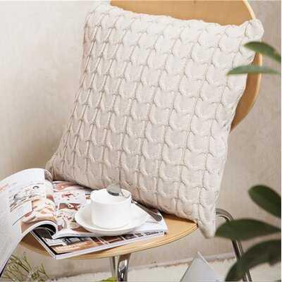 Normandy Square Cotton Pillow Cover & Insert - Wayfair