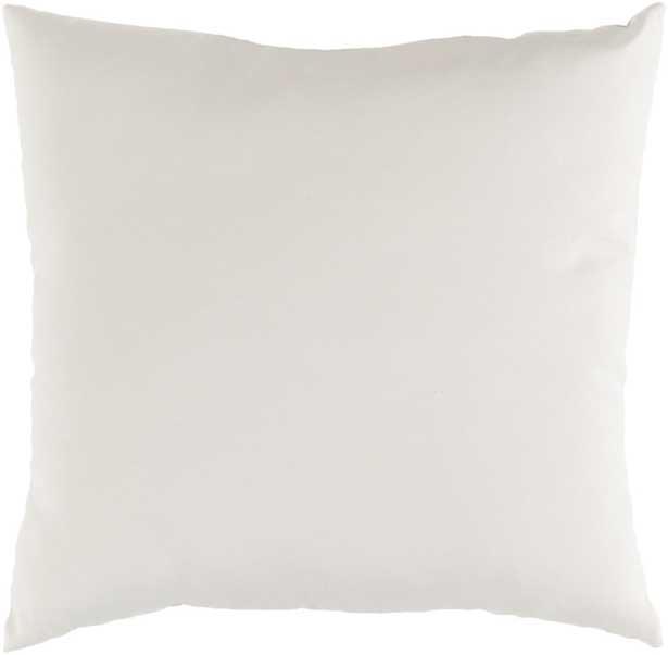 "Arian Pillow, 20""x 20"", Beige - Studio Marcette"