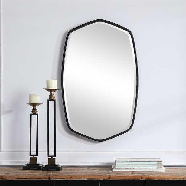 Duronia Black Iron Mirror - Hudsonhill Foundry