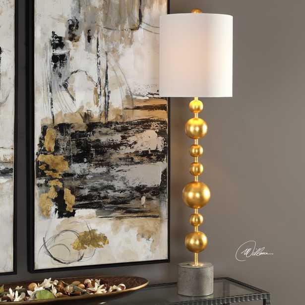 Selim Gold Buffet Lamp - Hudsonhill Foundry