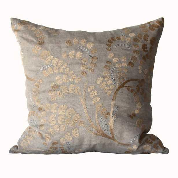 Bliss Studio Deco Sprigs Linen Throw Pillow - Perigold