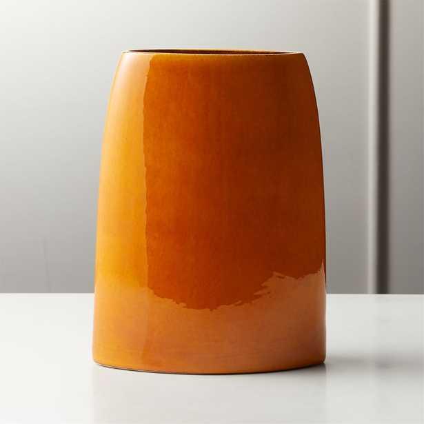 Marvin Orange Vase - CB2