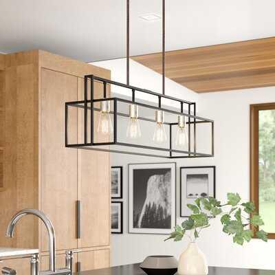 Marisa 4-Light Kitchen Island Linear Pendant - AllModern