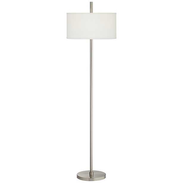Bovington Brushed Nickel Floor Lamp - Lamps Plus