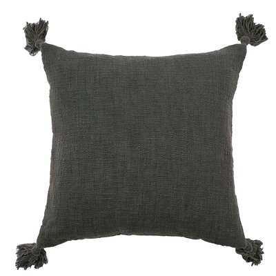 """Audette Cotton 18"""" Throw Pillow - AllModern"""