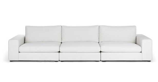 Beta Quartz White Modular Sofa - Article