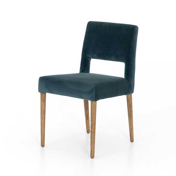 Four Hands Ashford Upholstered Side Chair in Bella Jasper- Back in Stock Nov 12, 2020. - Perigold