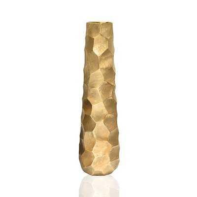 Otho Metal Floor Vase - Wayfair