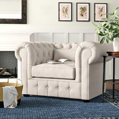 """Calila 23.75"""" Chesterfield Chair - Wayfair"""