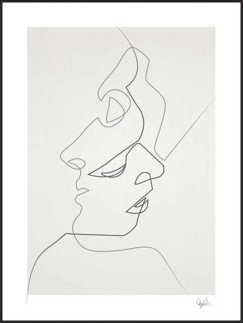 Close by Christophe Louis - Quibe for Artfully Walls - Artfully Walls