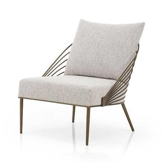 Deco Iron Back Chair - West Elm