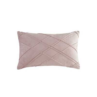 Naomi Rectangular Velvet Pillow Cover and Insert 20'' H x 12'' W - Wayfair