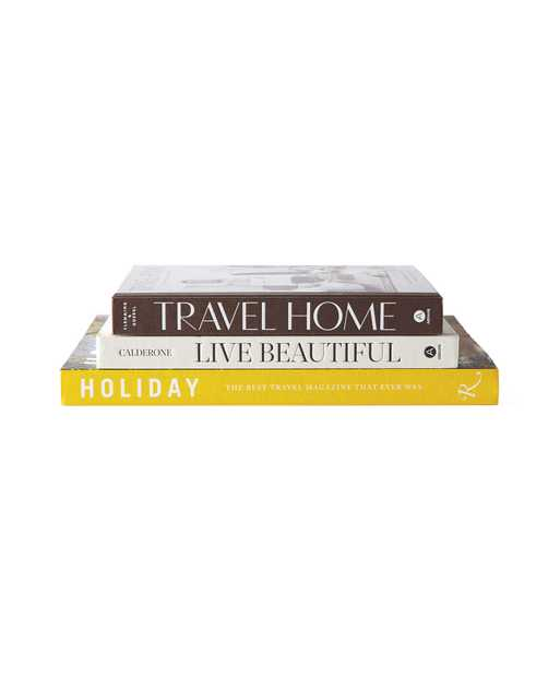 Coffee Table Books (Set of 3) - Serena and Lily