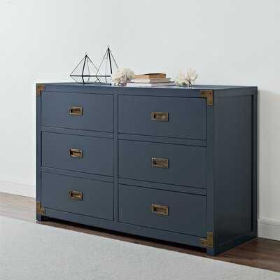 Sumitra 6 Drawer Double Dresser - Birch Lane