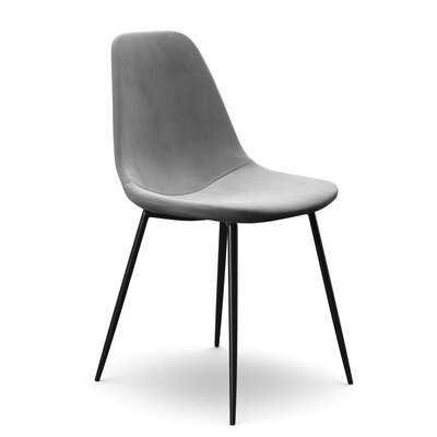 Aisha Velvet Upholstered Side Chair (Set of 2) - Wayfair