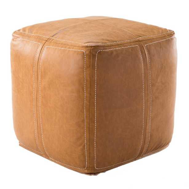Ultra Pouf Fabric: Tan - Perigold