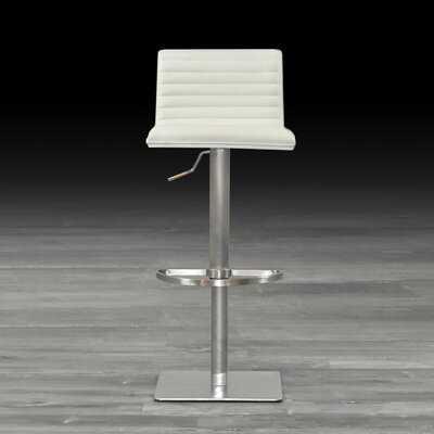 Grosvenor Adjustable Height Swivel Bar Stool - Wayfair
