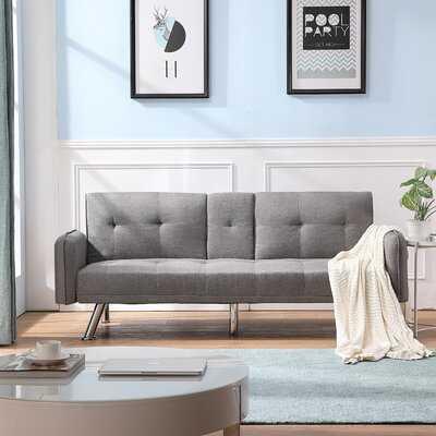 Gambrills 74.8'' Tufted Back Convertible Sofa - Wayfair