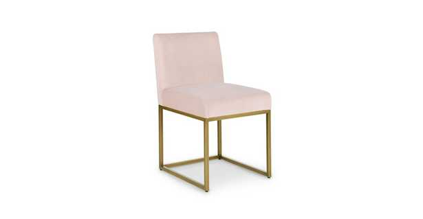 Oscuro Aster Pink Dining Chair, pair - Article