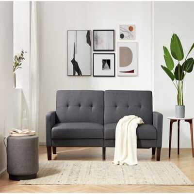 "78"" Round Arm Sleeper Sofa Bed - Wayfair"