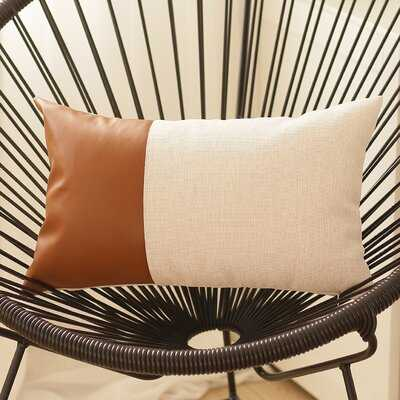 Alverez Rectangular Faux Feather Pillow Cover - Wayfair