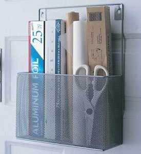 Juin Mesh Wall Mount Kitchen Cabinet Door Organizer - Birch Lane