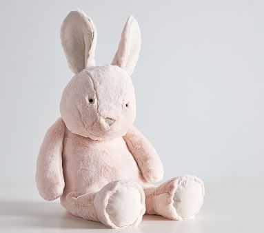 Blush Bunny Critter Plush, Medium - Pottery Barn Kids
