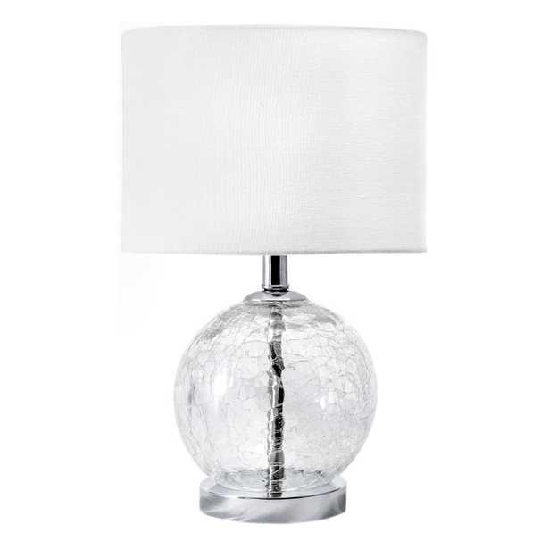 "Baltic 22"" Glass Table Lamp - Loom 23"